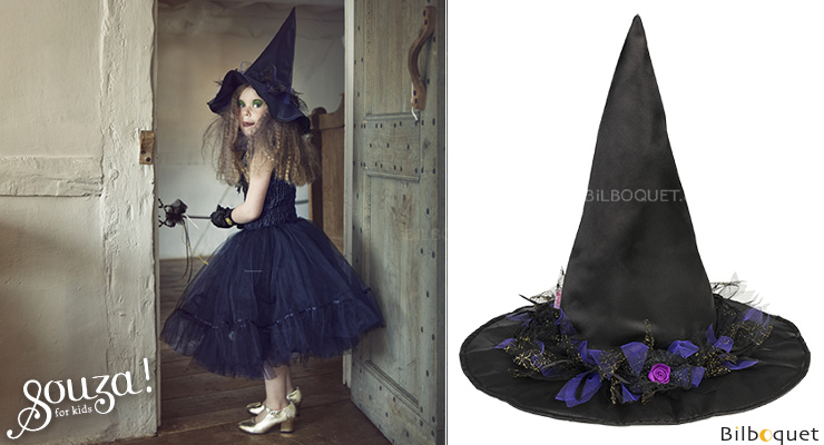Witch Hat Matilda - Accessory for kids costume ages 3-10 Souza for kids