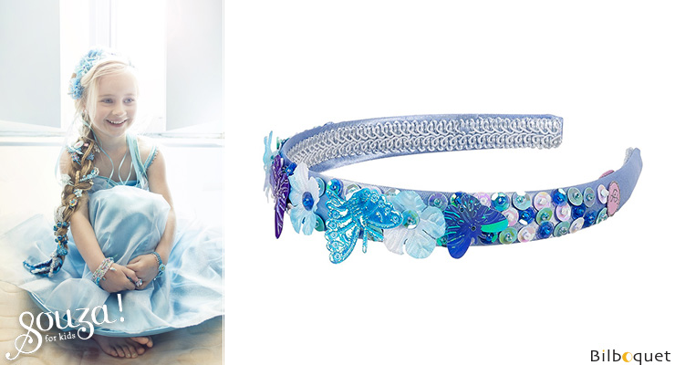Tiara Jennifer, blue - Accessory for girls Souza for kids