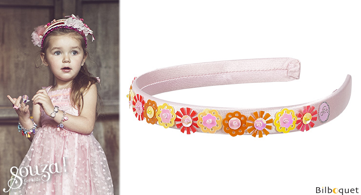 Tiara Irene, pink - Accessory for girls Souza for kids