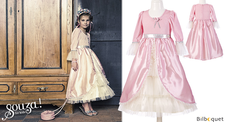 Classic Dress Marie-Antoinette - light pink - Costume for girl ages 3-4 Souza for kids