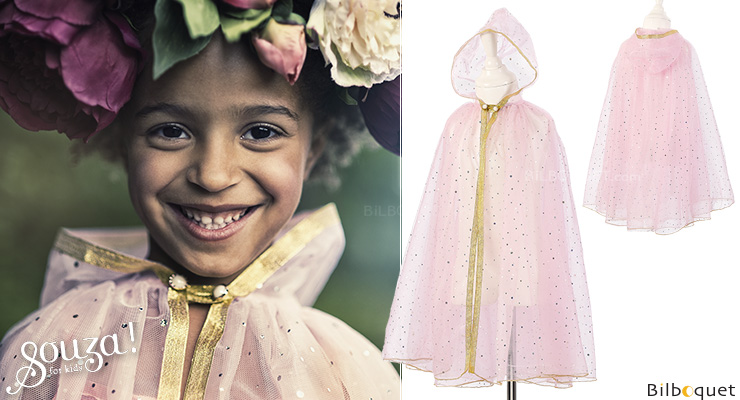 Suzanne Cloak - Costume for Girl ages 3-4 Souza for kids