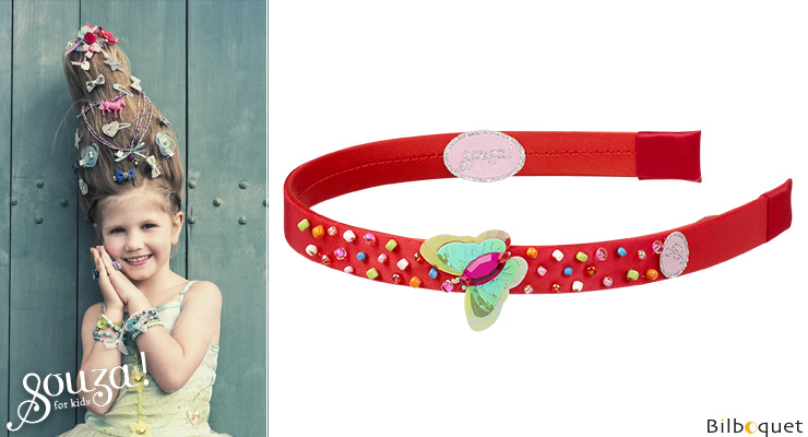 Alette - Headband - Red - Accessory for kids Souza for kids