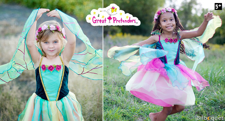 Fairy Blossom Dress - Costume for Girl ages 5-6 Great Pretenders