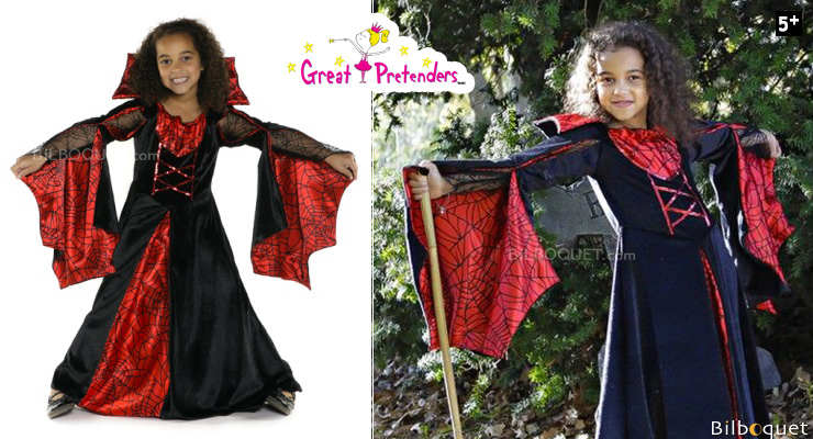 Spider Dress - Costume for Girl ages 5-6 Great Pretenders