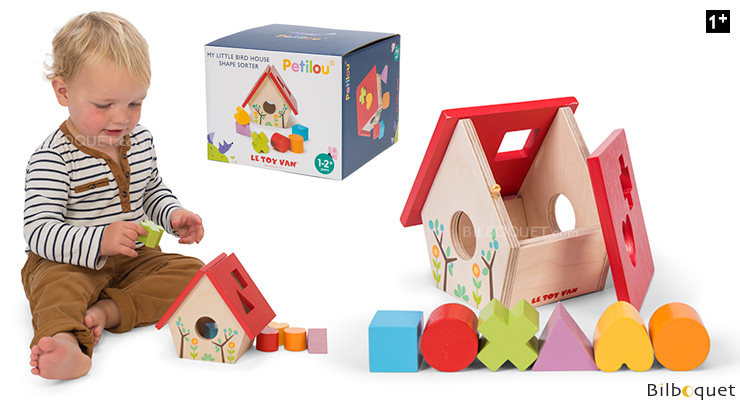 My Little Bird House Shape Sorter - Wooden Toy Le Toy Van