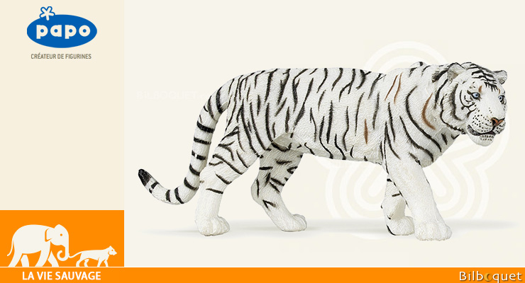 White tiger - Toy Figurine Papo