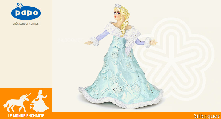Ice queen - Figurine The Enchanted World Papo