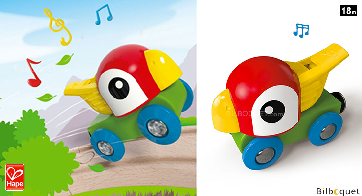 Whistling Parrot Engine - Musical Preschool Toy Hape Toys