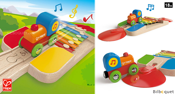 Xylophone Melody Track - Preschool Wooden Toy Hape Toys
