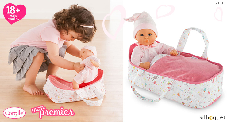 Mon Premier Carry Bed for 30cm baby doll Corolle