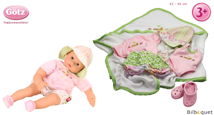 Bathing fun Set for 42-46cm baby doll Götz Dolls