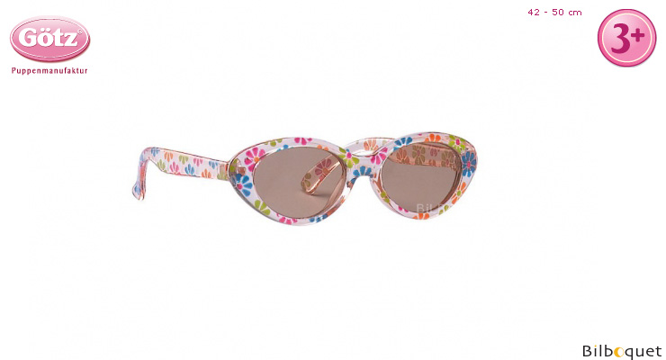 Flowery Sunglasses for 30-50cm dolls and baby dolls Götz Dolls
