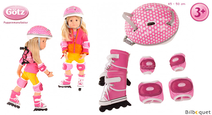 Inline Skate Set for 45-50cm Doll Götz Dolls