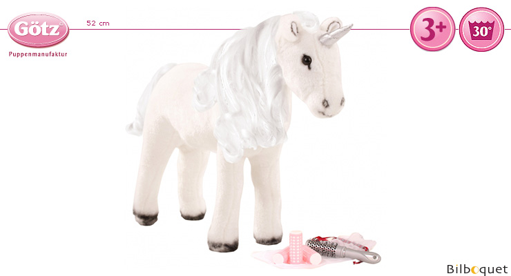 Unicorn for combing/styling 52cm Götz Dolls