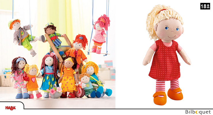 Soft doll Annelie 30cm Haba