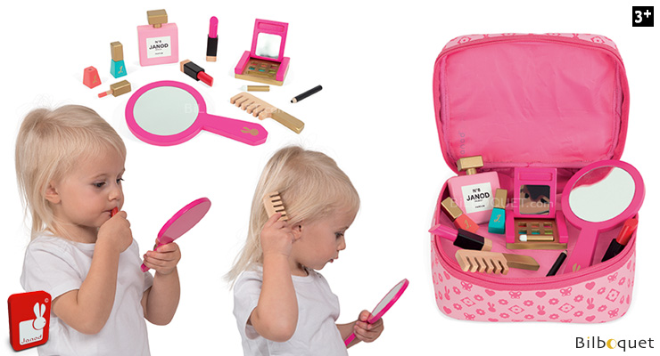 Little Miss Vanity Beauty Set - Pretend Play Toy Janod