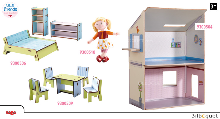 OFFER Dollhouse Dream with furniture - Little Friends Haba