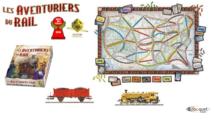 Ticket to ride (French) Days of Wonder