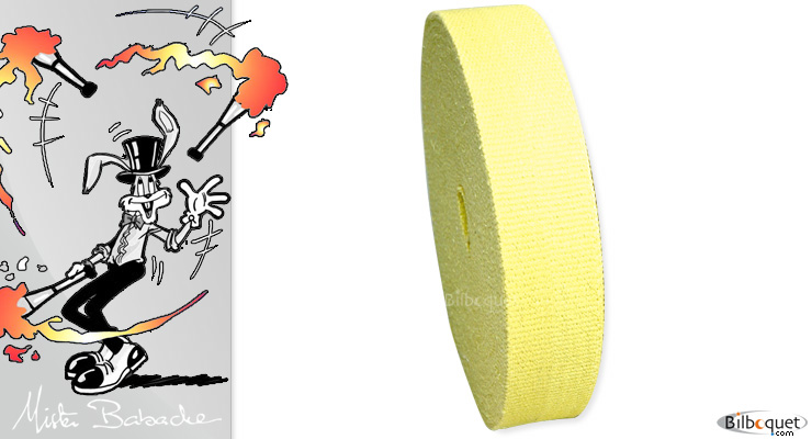 Torch wick (per meter) width 5cm Mister Babache