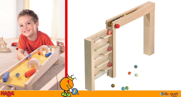 Skyscraper for ball track set Haba