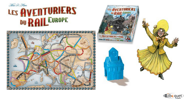 Ticket to ride Europ Days of Wonder