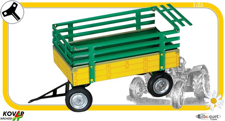 Green and yellow trailer