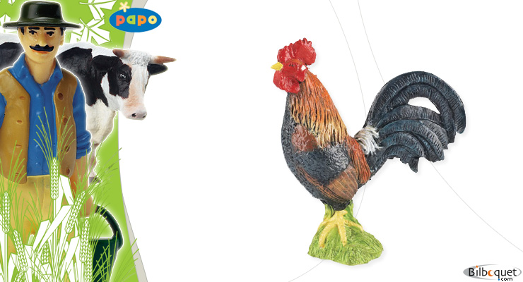 Gallic rooster Papo