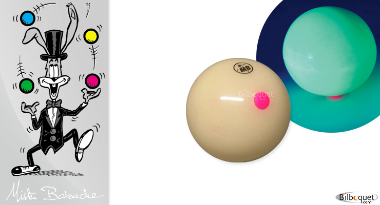 Ball Bubble moon diam.63mm Mister Babache