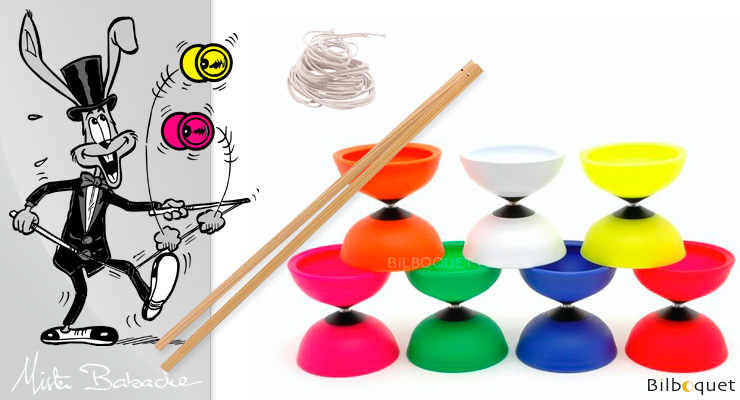 Finesse Diabolo with handsticks by Mister Babache + string Mister Babache