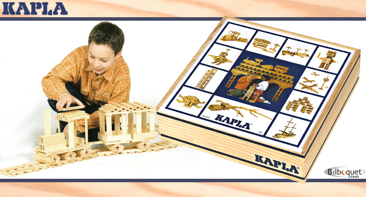 100 Kapla blocks building set Kapla