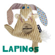 Lapinos the Rabbit, comforter 22cm Déglingos