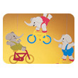 Cyclephants mobile Flensted Mobiles