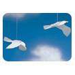 Soaring seagulls mobile Flensted Mobiles