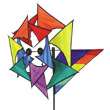 Rainbow Windmill Premier Kites & Designs
