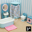 Daisylane Bathroom - Furniture for Dollhouses