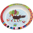 Assiette plate T'es Fou Louloup Ebulobo
