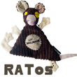 Ratos the Rat, comforter 22cm Déglingos