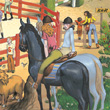 Puzzle Horse-riding 200 pieces Djeco