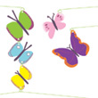 Butterflies mobile Little Big Room by Djeco