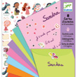 Invitation letter-cards girls Djeco