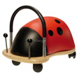 Ladybug ride-on toy - Small Size Wheely Bug