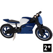 Superbike Blue Balance Bike for kids Kiddimoto
