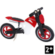 Scrambler bike red Wooden motorbike Kiddimoto