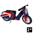 Scooter Brit Pop Wooden Balance Bike Kiddimoto