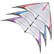 4-D ultra-light stunt kite Red