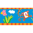 Friends from Amazon self adhesive border Djeco