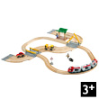Circuit rail/route Correspondance train/bus BRIO