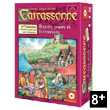 Bridges, Castles & Bazaars expansion for game Carcassonne