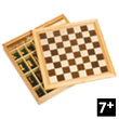 Chess, Draughts, Nine men's morris Goki