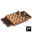 Magnetic chess with drawers Goki